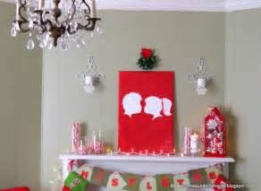 Christmas craft ideas kissing under the mistletoe silhouette wall art
