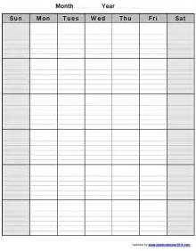 16 blank printable weekly calendars templates images