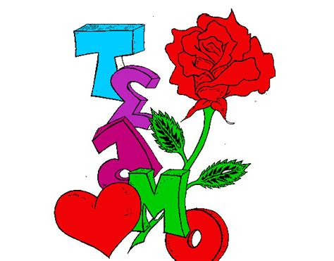 fotos que digan te amo jacqueline en una hoja rosas que digan te amo imagui