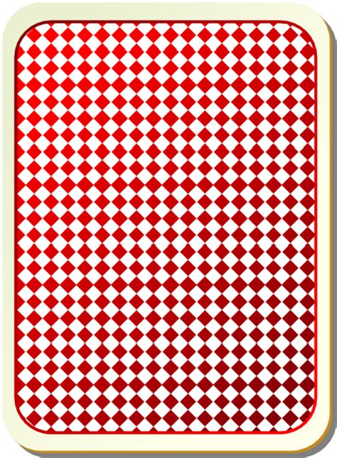svg checkerboard pattern red checkerboard card back clip art at clker com vector