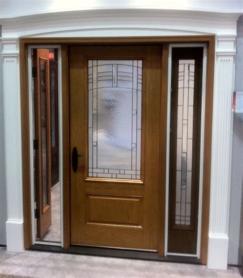 Front Entry Doors With Sidelites Therma Tru Vented Sidelights More Than A Sidelite With Hinges Kuiken Brothers