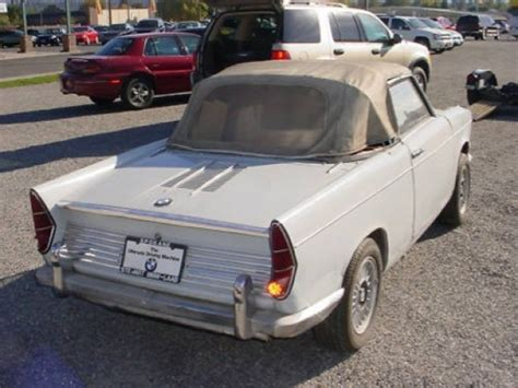 bmw 700 for sale stored 20 years 1962 bmw 700 s cabriolet bring a trailer