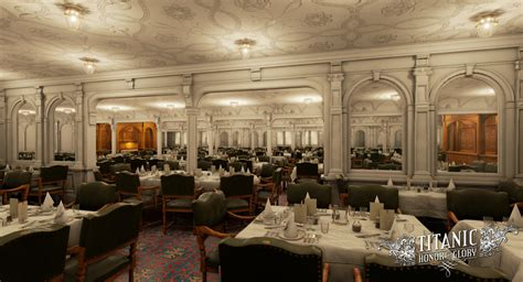 Titanic 1st Class Dining Room by Images Titanic Honor And