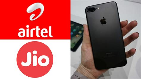 apple iphone 7 all you need to about airtel and reliance jio offers newsmobile