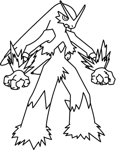 pokemon coloring pages mega blaziken pokemon mega blaziken coloring pages cartoon best