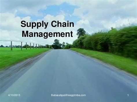 Uhd Supply Chain Mangement Mba by Supply Chain Management Mba 4 Sem Production Management