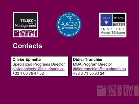 Mba Telecommunications by Executive Mba Leading Innovation In A Digital World