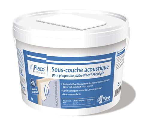 Plaque De Placo Phonique 3875 by Placo 174 Sous Couche Acoustique Placo Phonique 187 Le Du