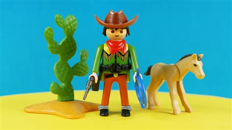Set Coboy playmobil western sets cowboy with foal cowboy mit