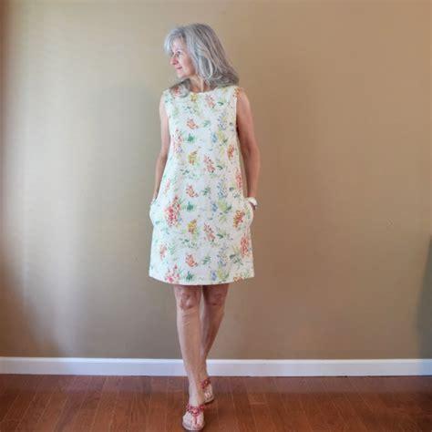 Simple Summer Shift Dress Pattern