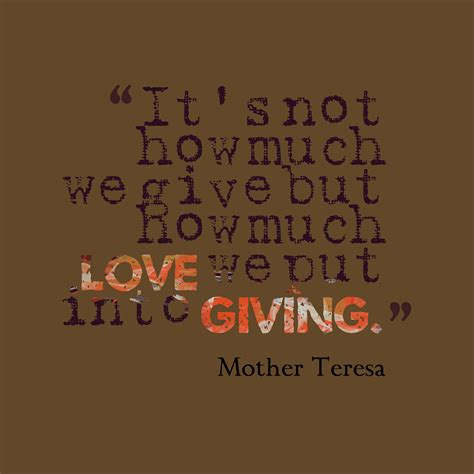 how much to a service teresa volunteer quotes quotesgram