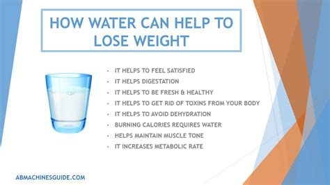 10 Ways How Water Helps You To Lose Weight by Lifting Reasons Why Water Is Important