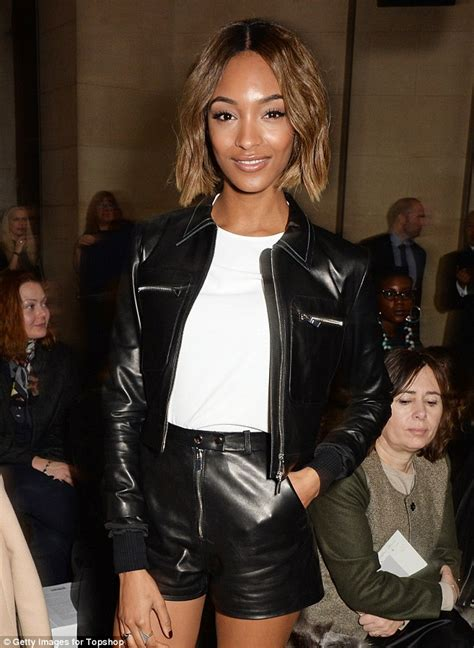 Shiny Fashion Tvs 25 High Challenge by Jourdan Dunn At Topshop S Fashion Week Show Daily