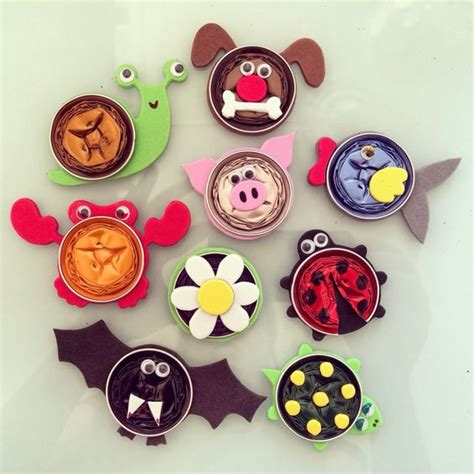 Animal Fridge Magnet animal fridge magnets made with recycled nespresso