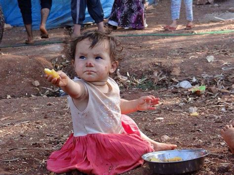Syari And Kid syrian child refugee of war we all and pretty