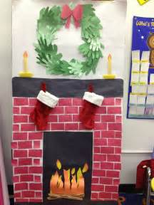 how to decorate doors and chimeny for christmas 1000 ideas about construction bulletin boards on construction theme classroom
