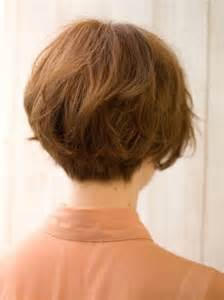 back view of wedge haircut styles short bob hairstyles back view
