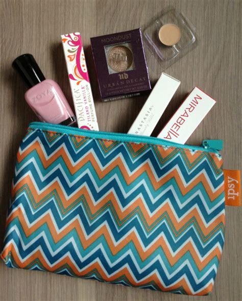 ipsy my glam bag review may 2013 makeup subscription