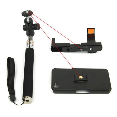 Tongsis Monopod And Large Phone Holder tongsis multifunctional monopod high quality z07 3 with cl for iphone 4 and iphone 5