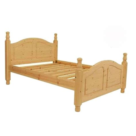 high end beds double premier oslo pine high end bed 4ft 6 quot free