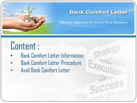 Bank Comfort Letter Bcl avail bank comfort letter bcl bronze wing trading