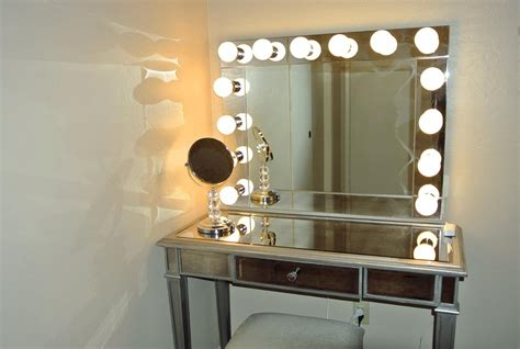 mirror with built in lights 20 inspirations vanity mirrors with built in lights