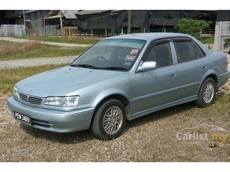 how to sell used cars 2000 toyota corolla seat position control toyota corolla 2000 seg 1 6 in penang automatic sedan blue for rm 18 800 3490434 carlist my