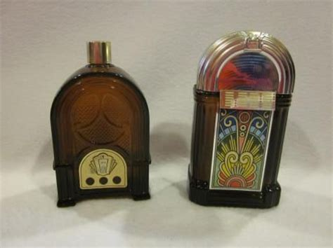 most wanted avon bottles lot of 2 vintage avon jukebox radio perfume bottles