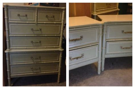 craigslist atlanta chest of drawers henry link bali hai nightstands and tall chest of drawers