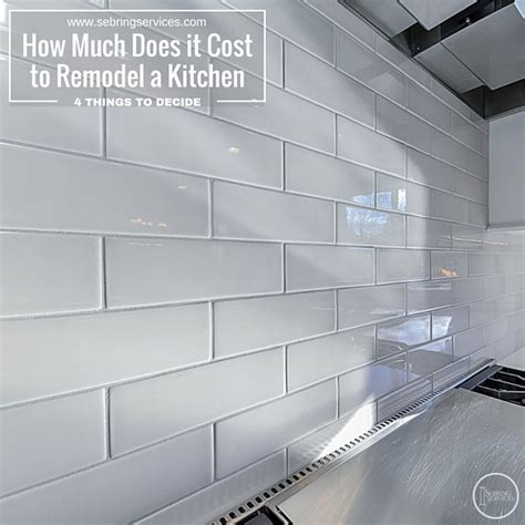 how much does it cost to remodel a kitchen medium size of