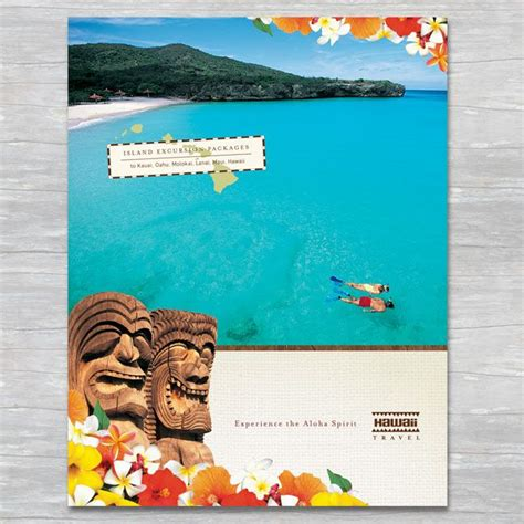 hawaii brochure template 17 best images about summer marketing on logos