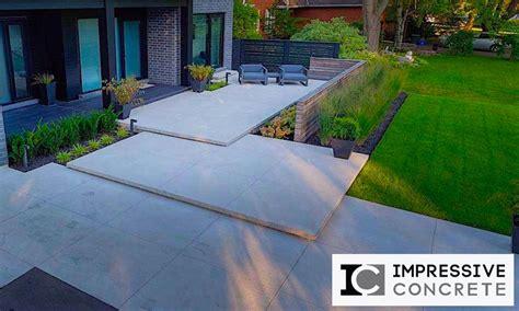 Smooth Concrete Patio by Decorative Concrete Driveways Patios Pool Decks More