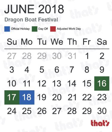 dragon boat festival 2018 china china here are your 2018 public holidays thatsmags