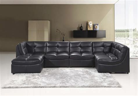 modular sectional sofa with ottoman black modular sectional sofa 9148 best master