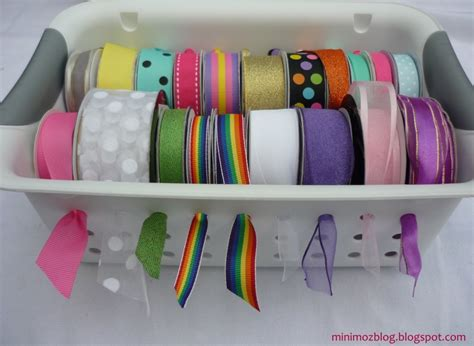 ribbon diy projects 51 mind blowing dollar store organizing ideas to get your home a complete makeover diy