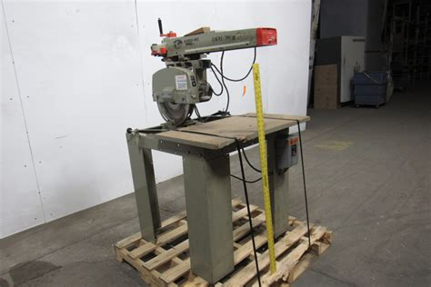 Radial Arm Saw Table by Derda Dmne 500 30 14 Quot Radial Arm Saw 230 460v 21 Quot Travel