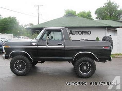 Brentwood Ford by 1979 Ford Bronco For Sale In Brentwood Tennessee