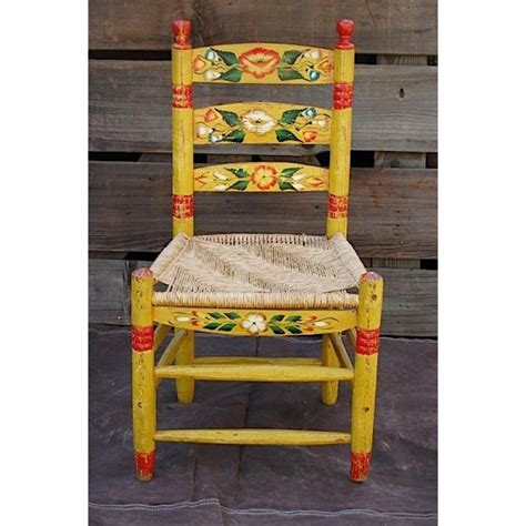 Mexican Painted Furniture by Vintage Mexican Painted Chair Style Clothing