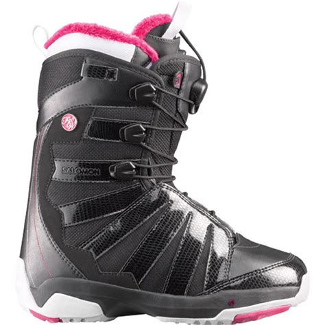 womens snowboarding boots salomon f20 w snowboard boots s 2012 evo outlet