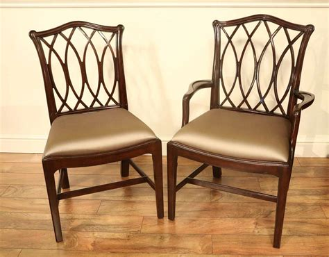 chippendale dining room chairs mahogany chippendale chairs for formal dining rooms