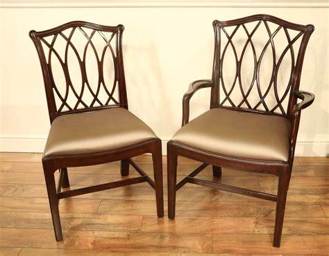 elegant dining room chairs mahogany chippendale chairs for elegant formal dining rooms