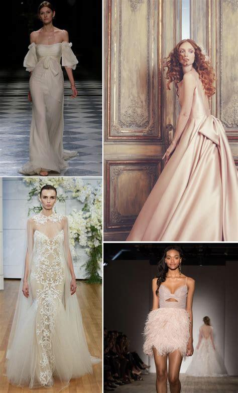 Wedding 2018 Trends by Wedding Dresses 2018 Trends Favorite Wedding Dress Trends