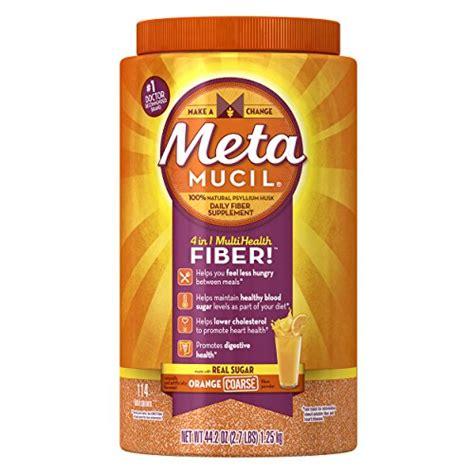 Metamucil Detox by Metamucil Daily Fiber Supplement 100 Psyllium