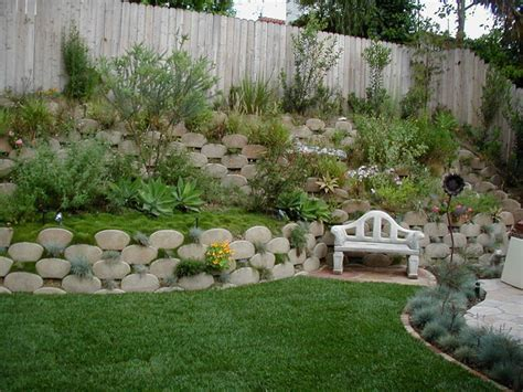 backyard slope landscaping how to landscape a slope in backyard izvipi com