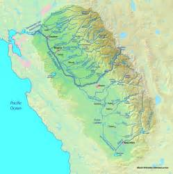 map of rivers in california sacramento and san joaquin rivers american rivers