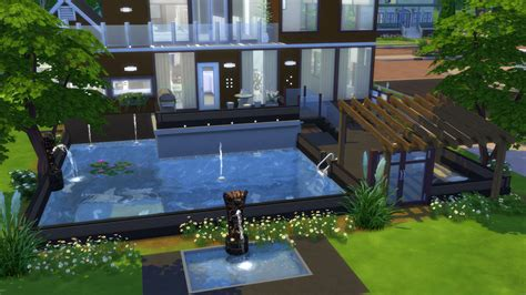 Split Level House my first build in the sims 4 will be posting