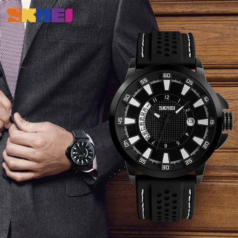 Jam Tangan Pria Ripcurl Ab1850 Black White skmei jam tangan analog pria 9152 black white jakartanotebook