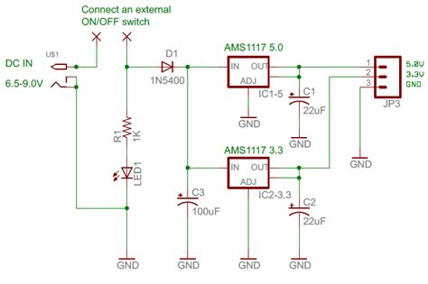 3v power supply circuit diagram 5 volt constant power supply circuit diagram circuit and