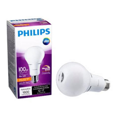 Lu Philips Led 6 Watt philips 100 watt equivalent a21 led 2200 2700k 6 pack comed marketplace