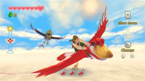 skyward sword the legend of breath of the appears to borrow